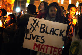 The recent news and black lives matter?